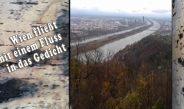 Wien fließt mit einem Fluss in das Gedicht